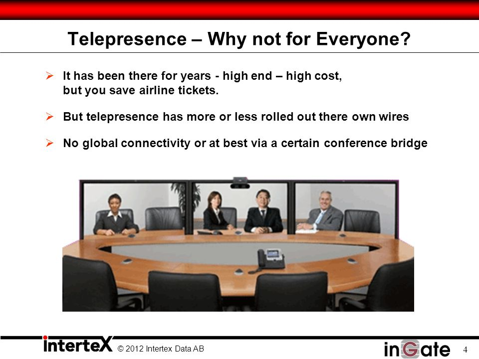 Telepresence – Why not for Everyone