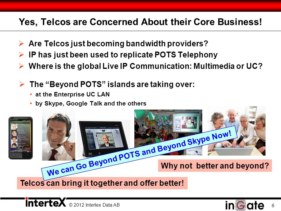 Yes, Telcos are Concerned About their Core Business!