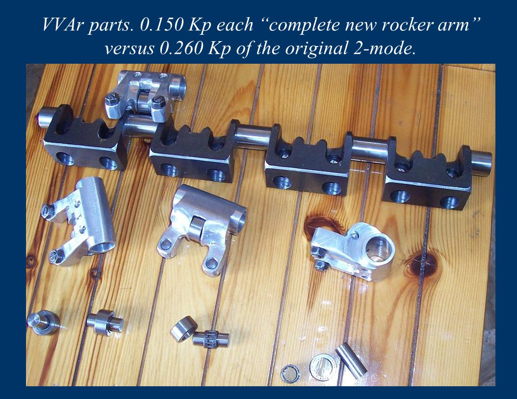 VVAr parts. 150 Kp each complete new rocker arm versus 0