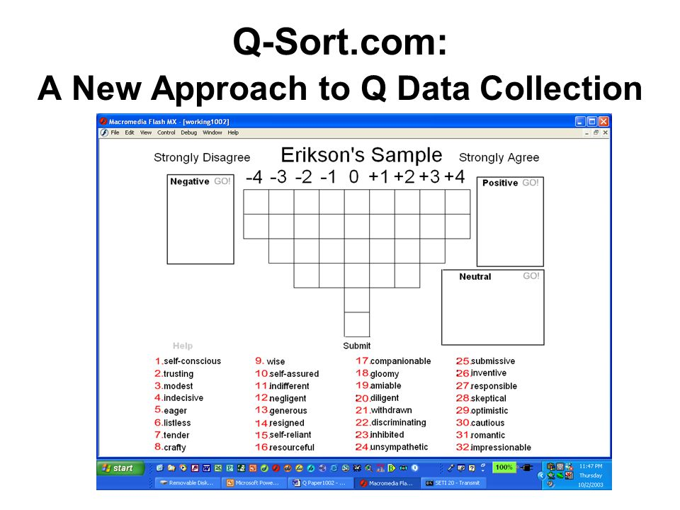 Q-Sort.com: A New Approach to Q Data Collection