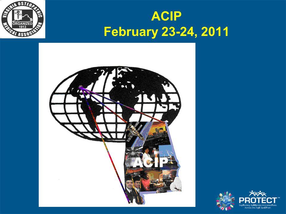 ACIP February 23-24, 2011