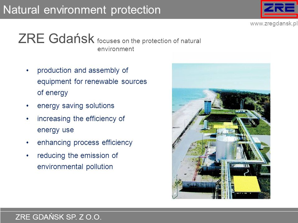 Natural environment protection