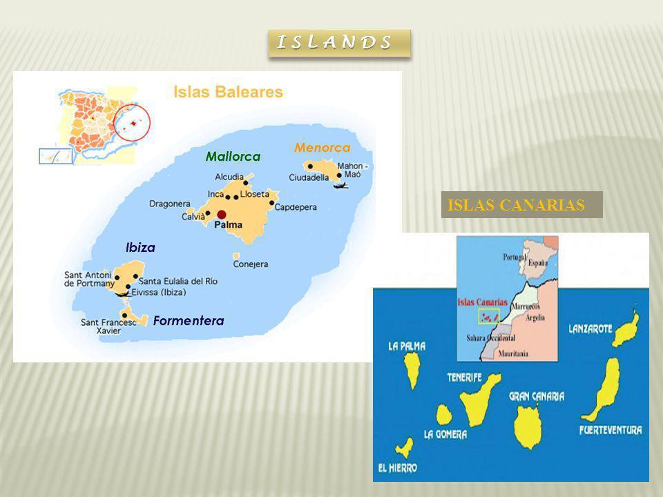 ISLANDS ISLAS CANARIAS