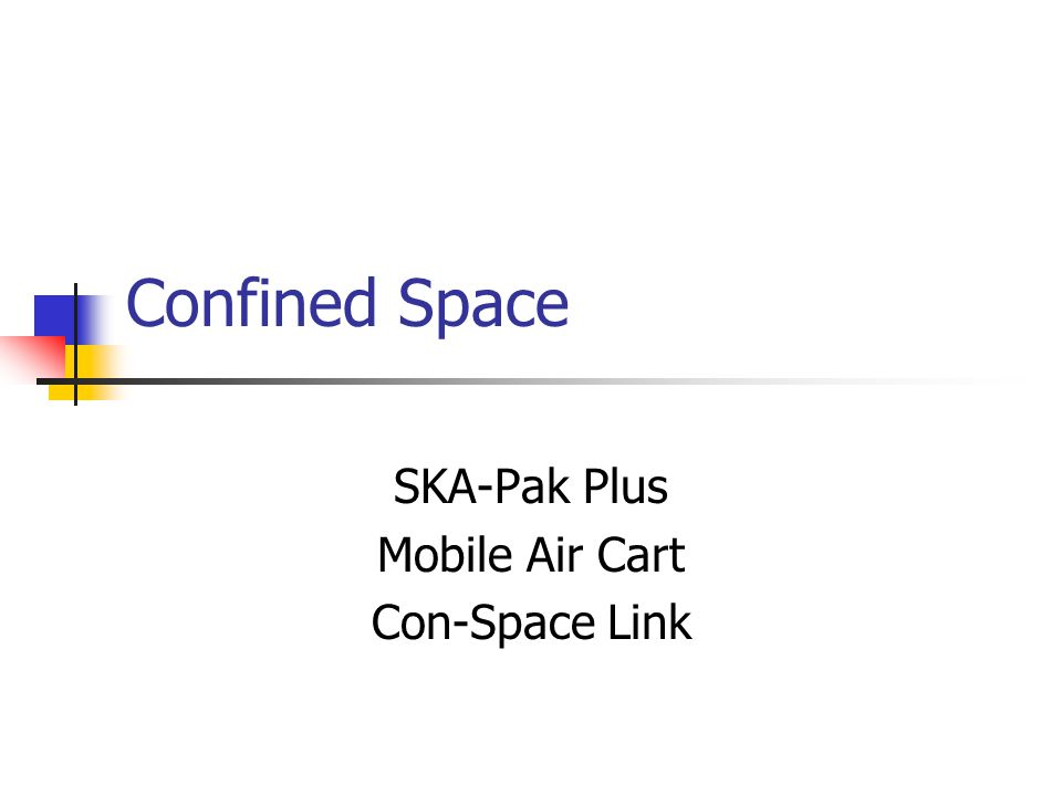 SKA-Pak Plus Mobile Air Cart Con-Space Link