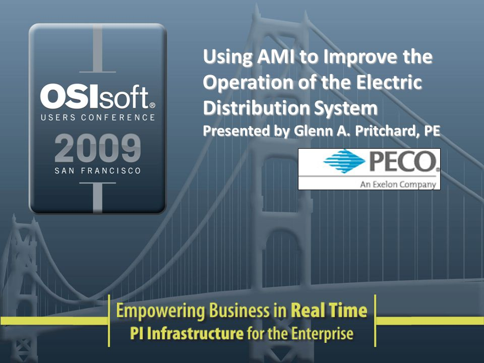 Using AMI to Improve the Operation of the Electric Distribution System