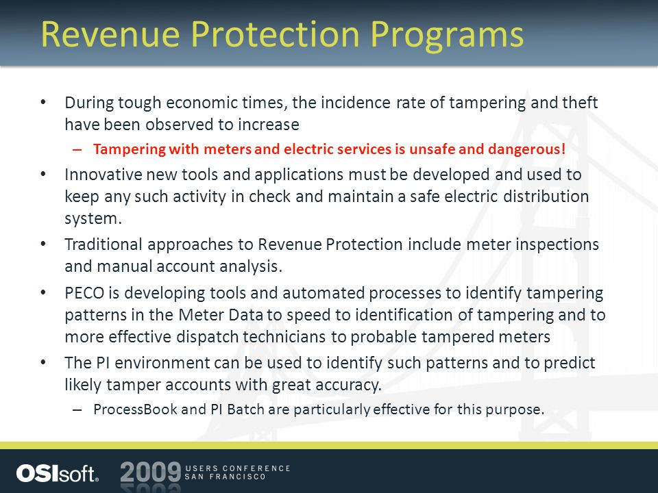 Revenue Protection Programs