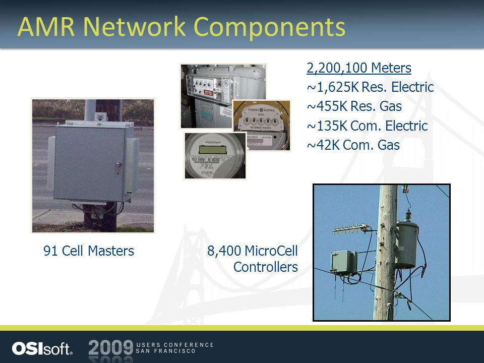 AMR Network Components