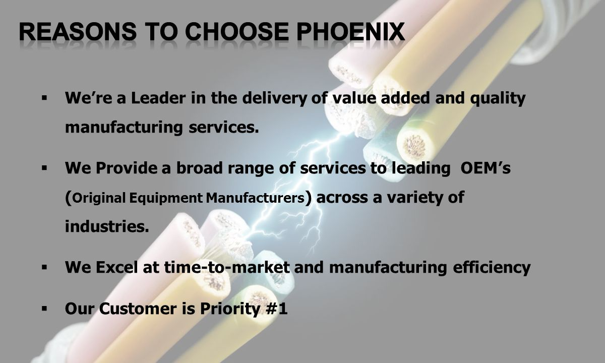 Reasons to Choose Phoenix