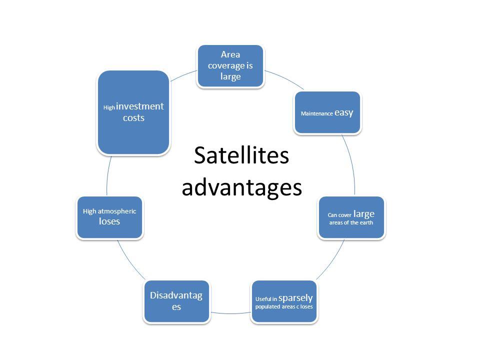 Satellites advantages