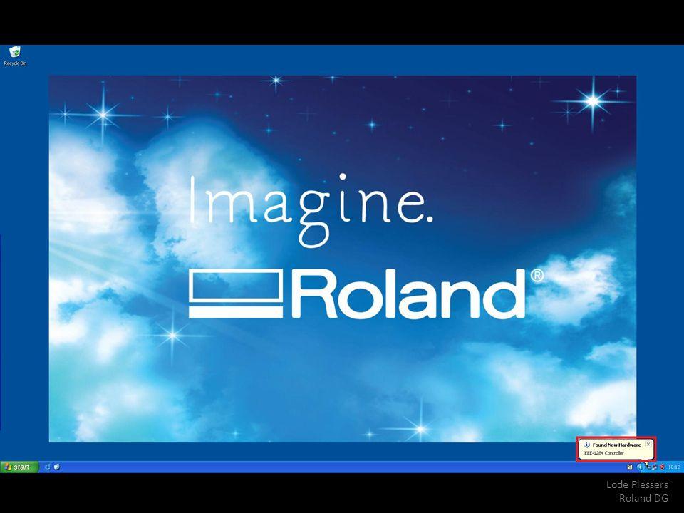 Lode Plessers Roland DG