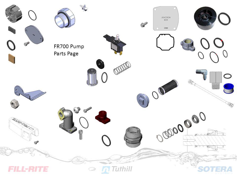 FR700 Pump Parts Page