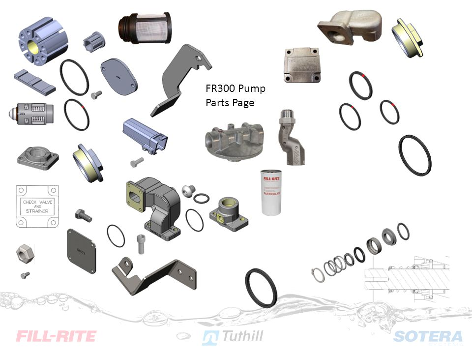 FR300 Pump Parts Page