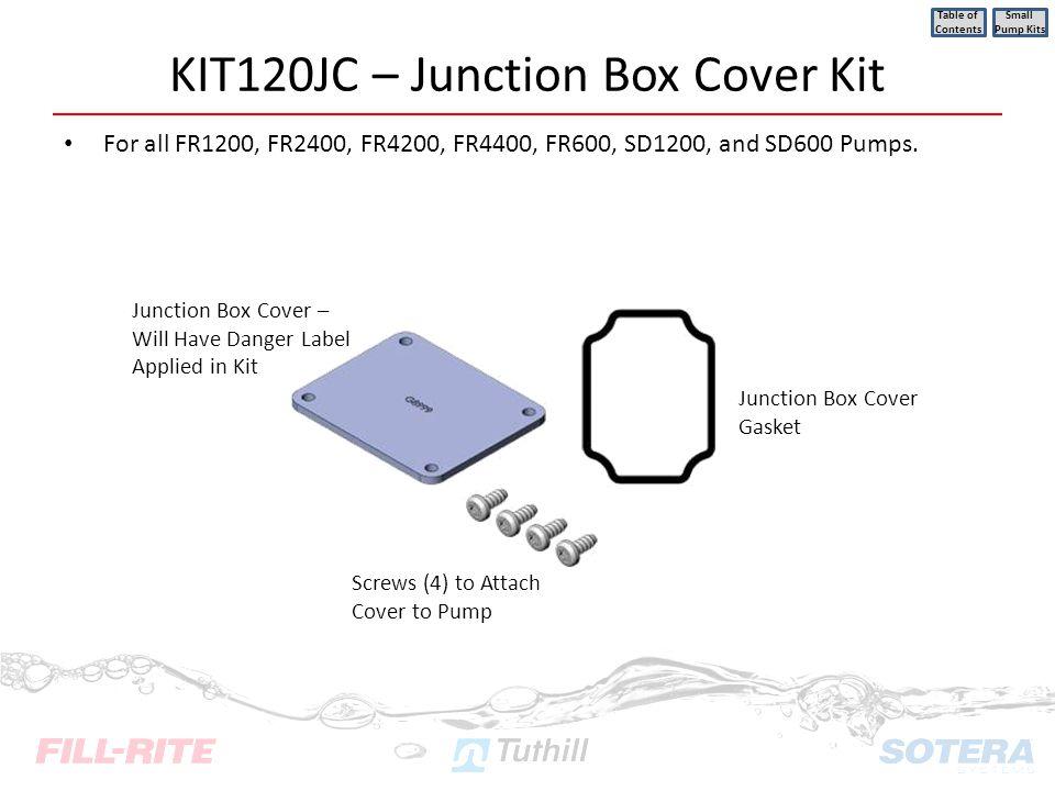 KIT120JC – Junction Box Cover Kit