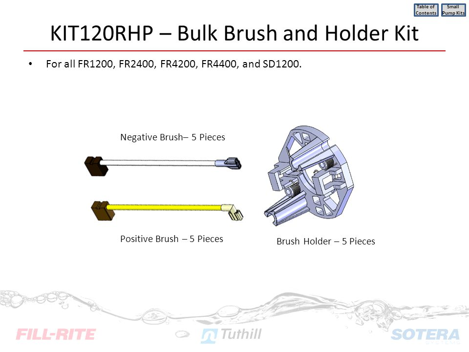 KIT120RHP – Bulk Brush and Holder Kit