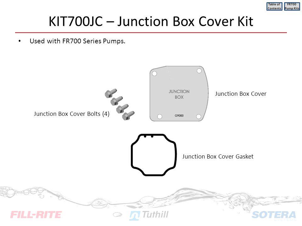 KIT700JC – Junction Box Cover Kit