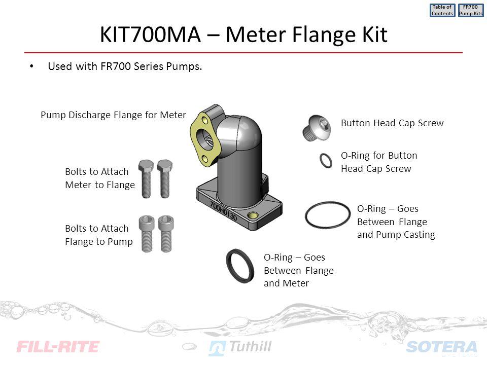 KIT700MA – Meter Flange Kit
