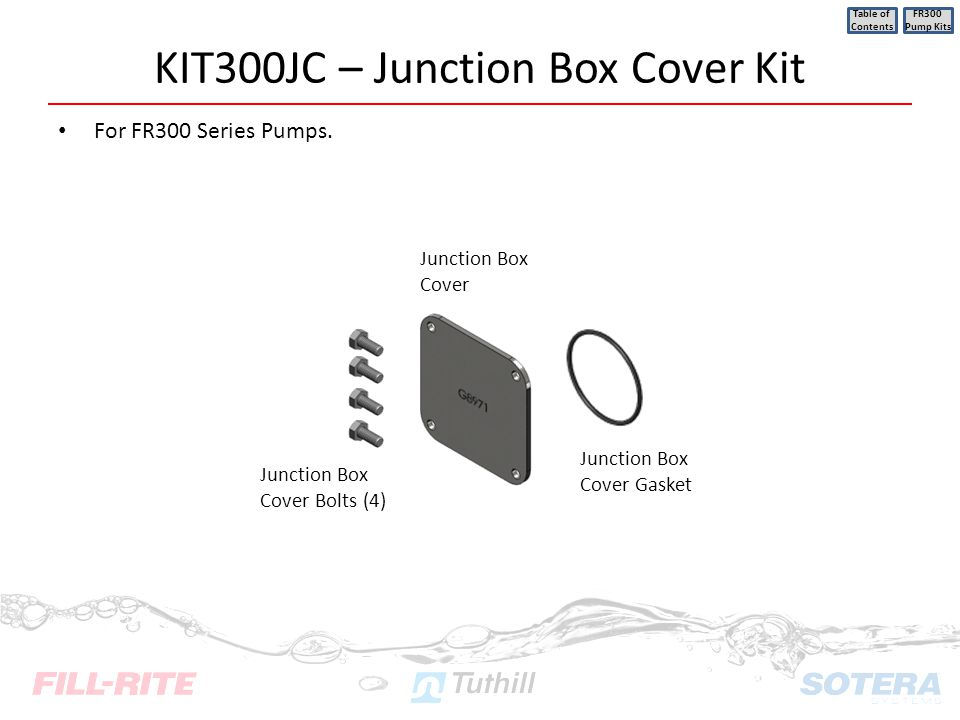 KIT300JC – Junction Box Cover Kit