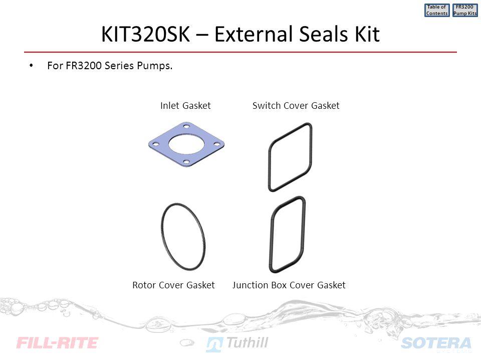 KIT320SK – External Seals Kit