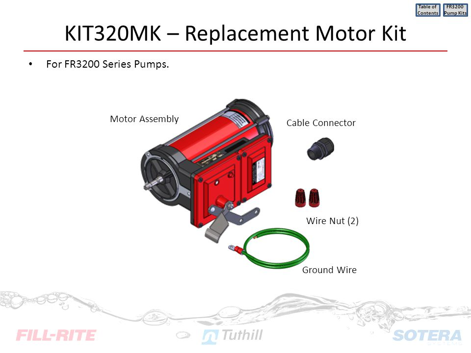 KIT320MK – Replacement Motor Kit