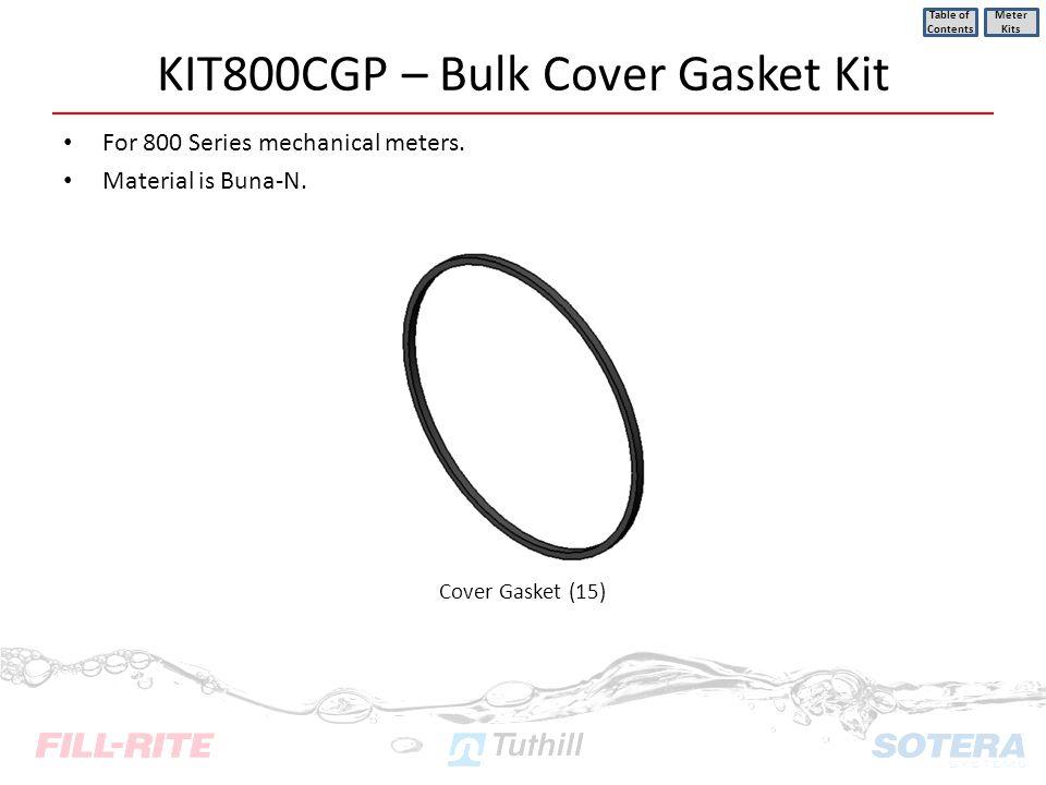 KIT800CGP – Bulk Cover Gasket Kit