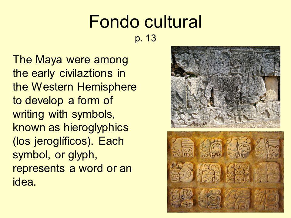 Fondo cultural p. 13
