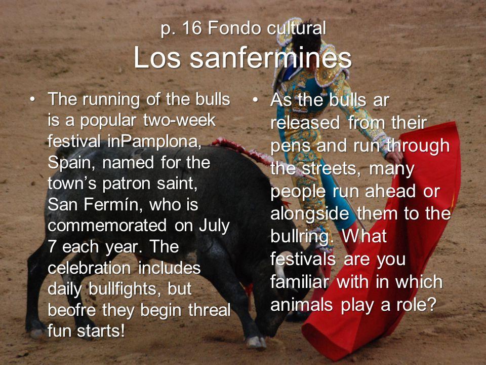 p. 16 Fondo cultural Los sanfermines