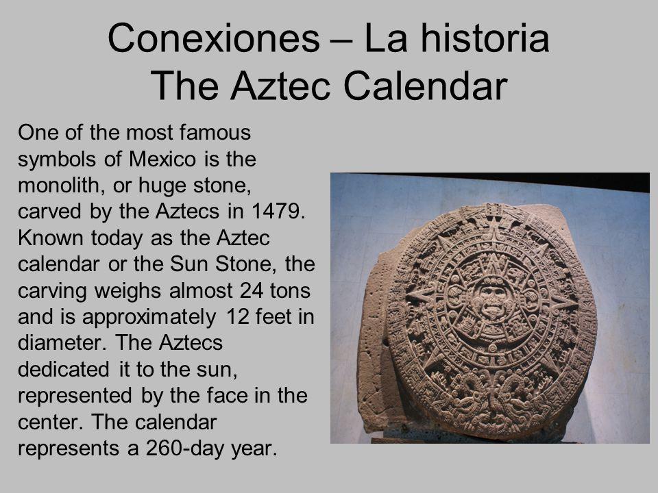 Conexiones – La historia The Aztec Calendar