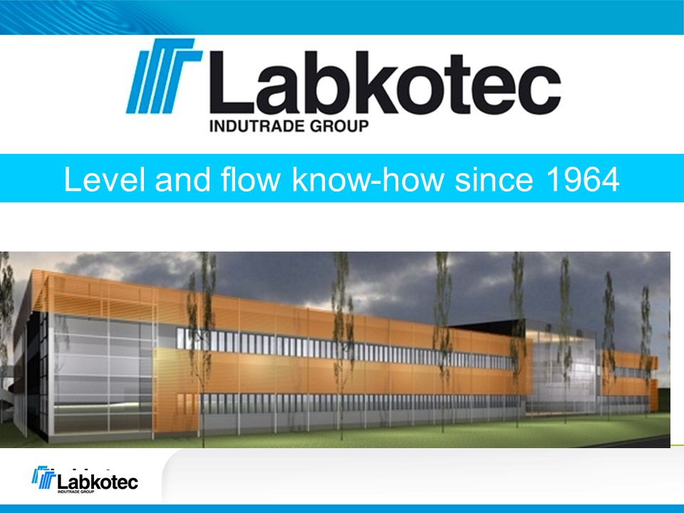 Level and flow know-how since 1964