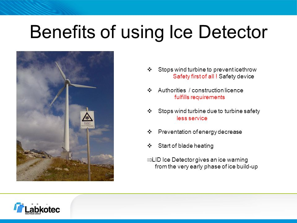 Benefits of using Ice Detector