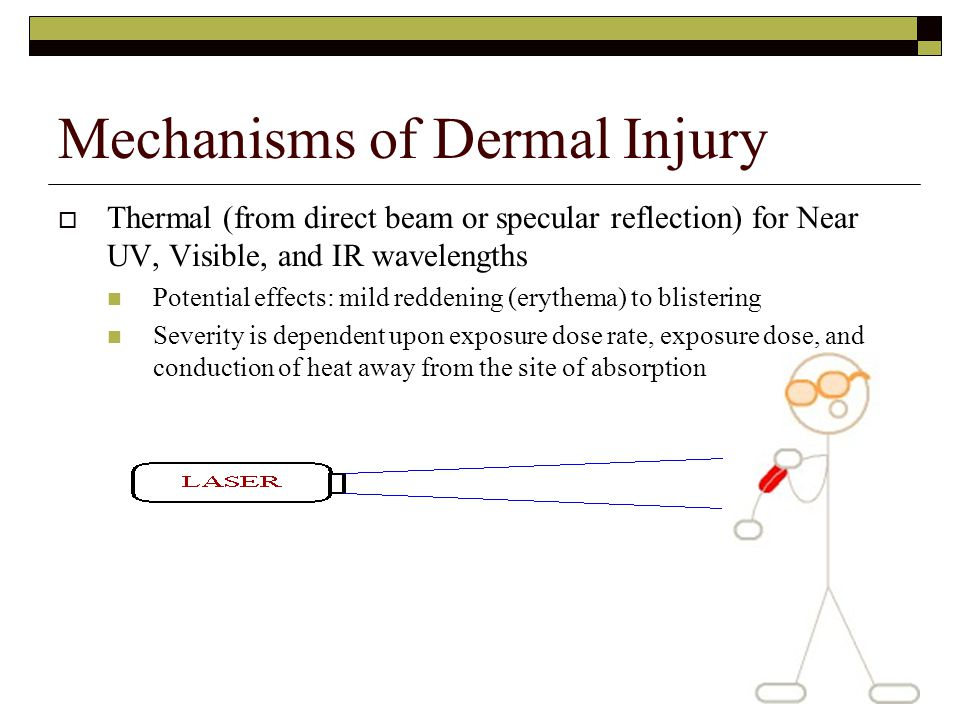 Mechanisms of Dermal Injury