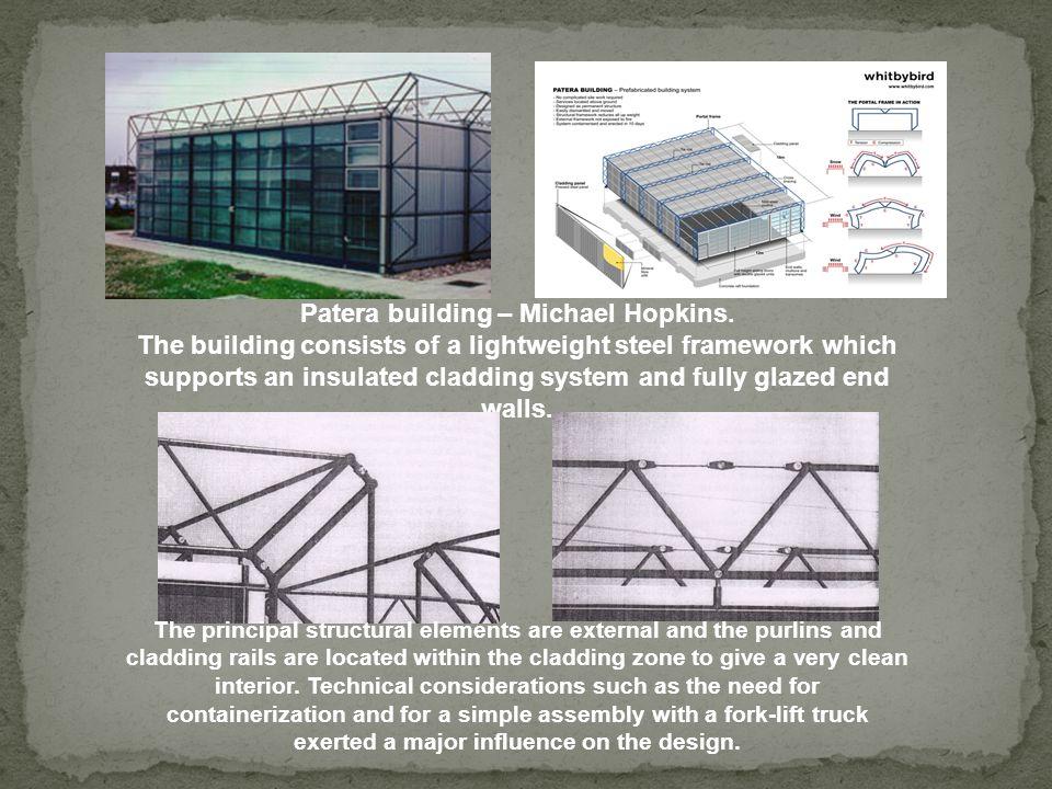 Patera building – Michael Hopkins.