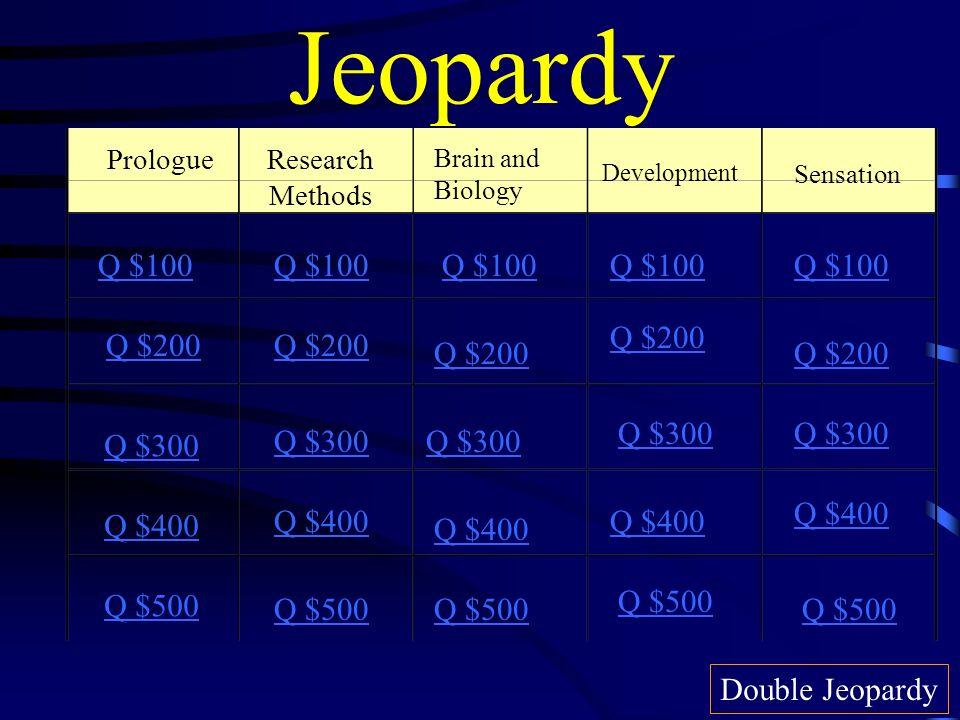 Jeopardy Q $100 Q $100 Q $100 Q $100 Q $100 Q $200 Q $200 Q $200