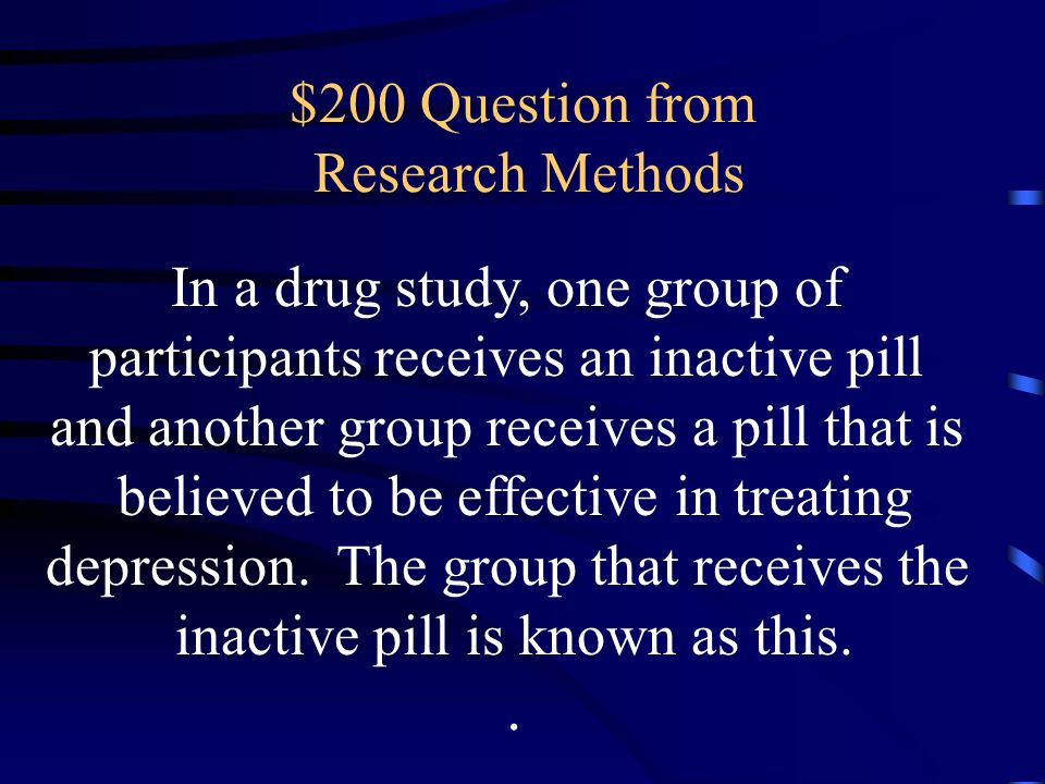 $200 Question from Research Methods