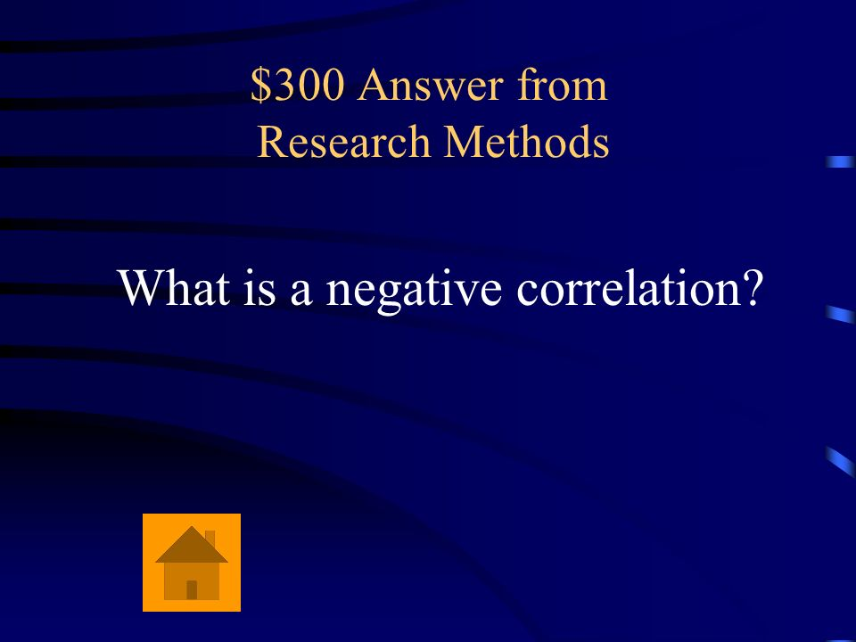 $300 Answer from Research Methods
