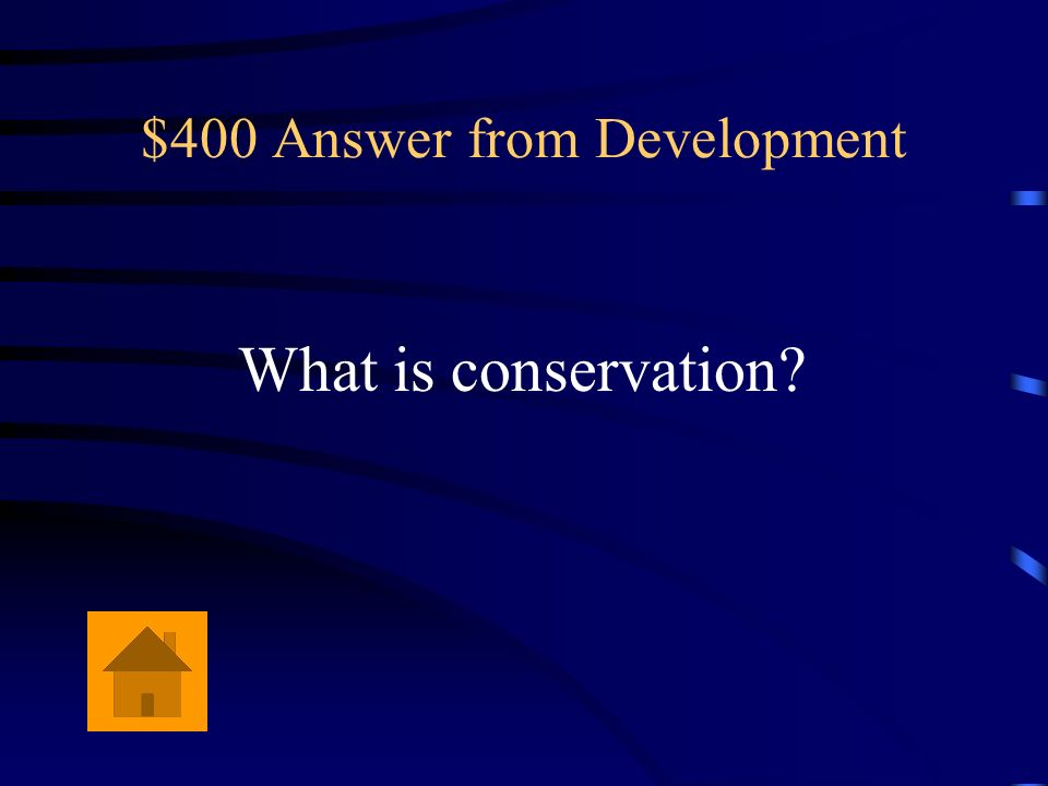 $400 Answer from Development