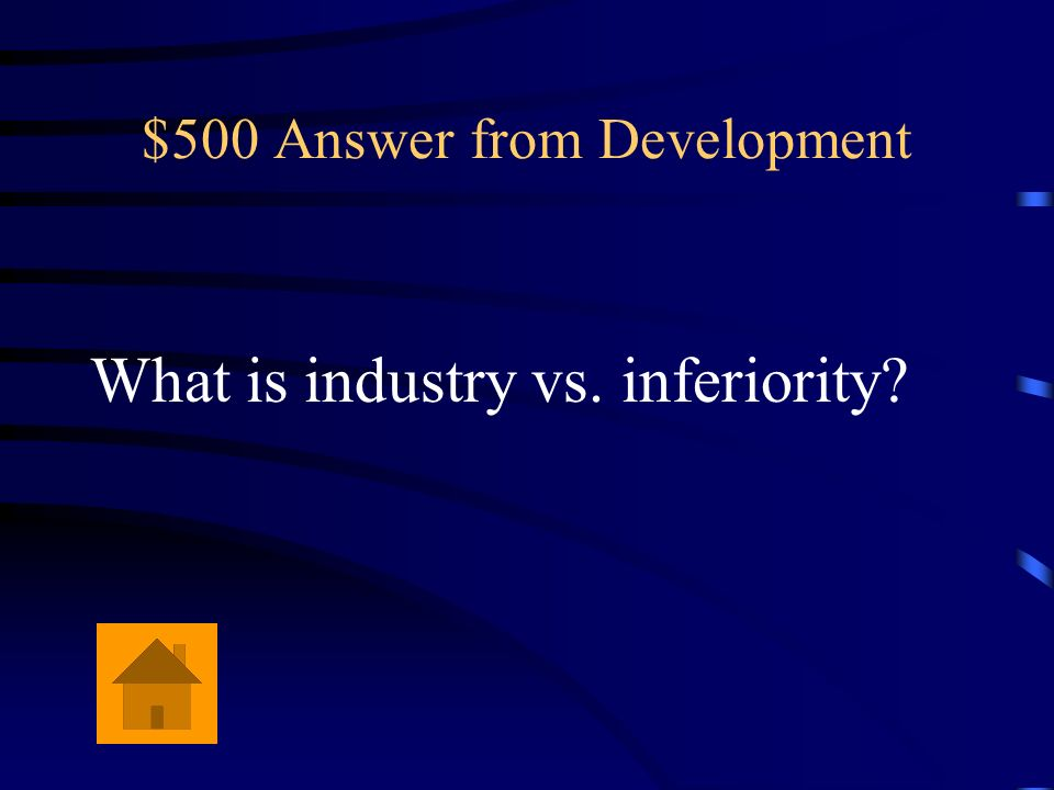 $500 Answer from Development
