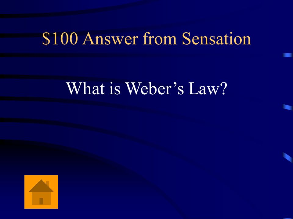 $100 Answer from Sensation