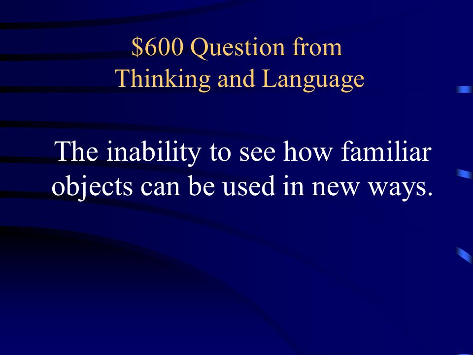 $600 Question from Thinking and Language