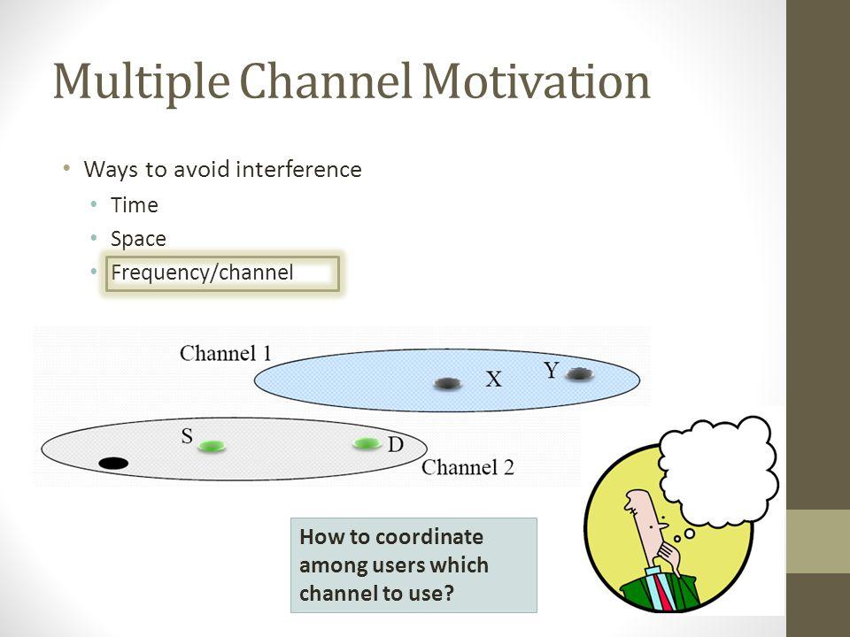 Multiple Channel Motivation
