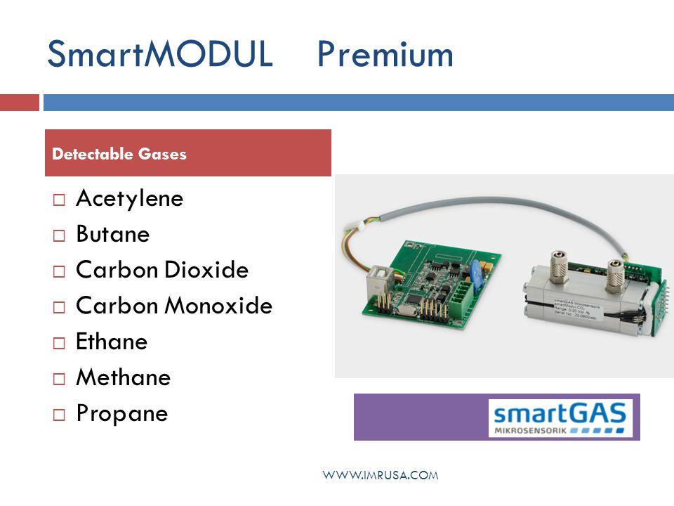 SmartMODUL Premium Acetylene Butane Carbon Dioxide Carbon Monoxide