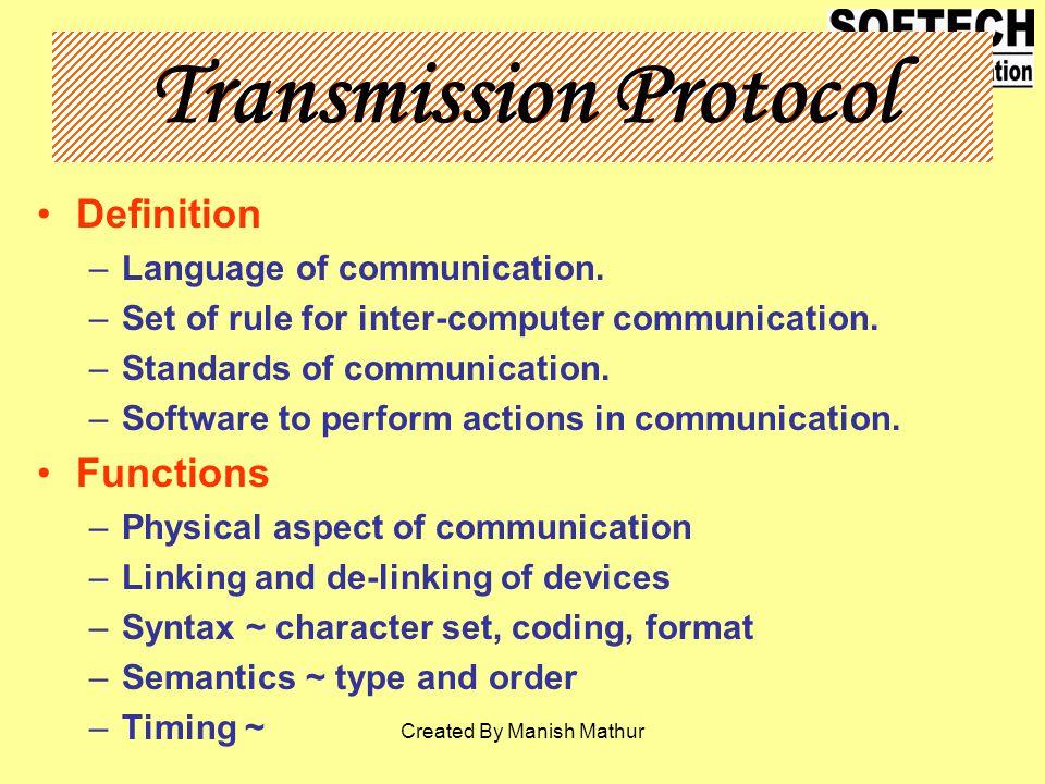 Transmission Protocol