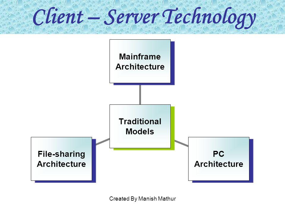 Client – Server Technology