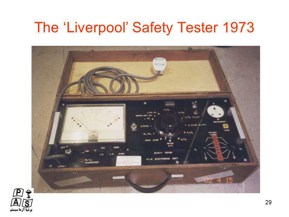 The 'Liverpool' Safety Tester 1973