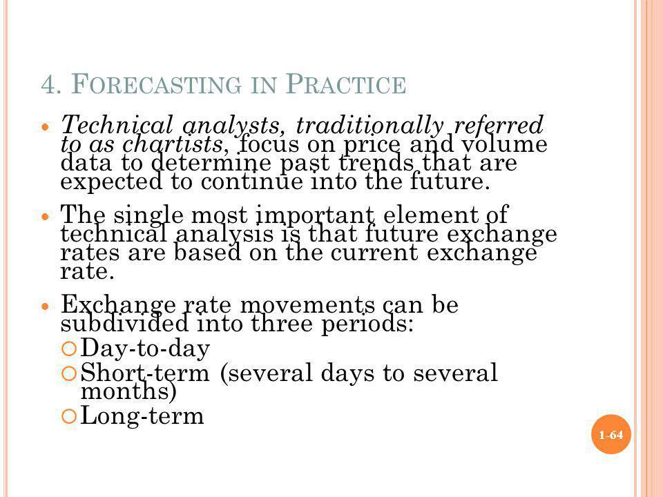 4. Forecasting in Practice