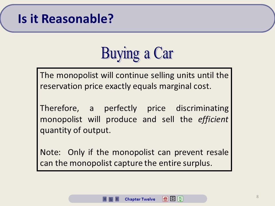 Is it Reasonable Buying a Car