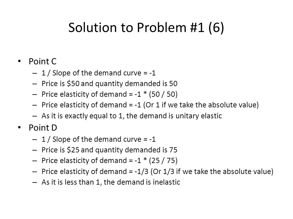 Solution to Problem #1 (6)