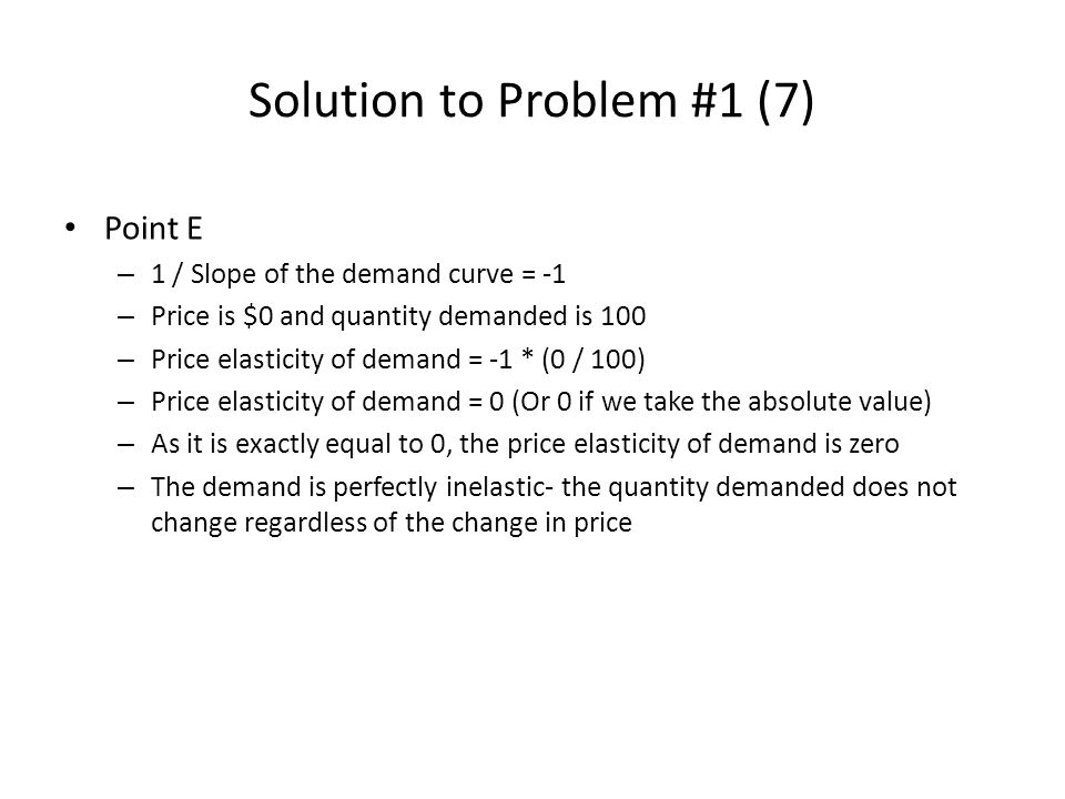 Solution to Problem #1 (7)