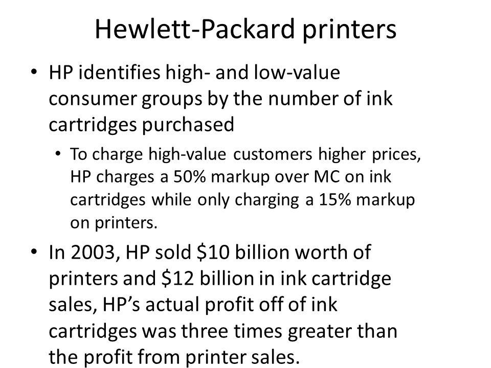 Hewlett-Packard printers