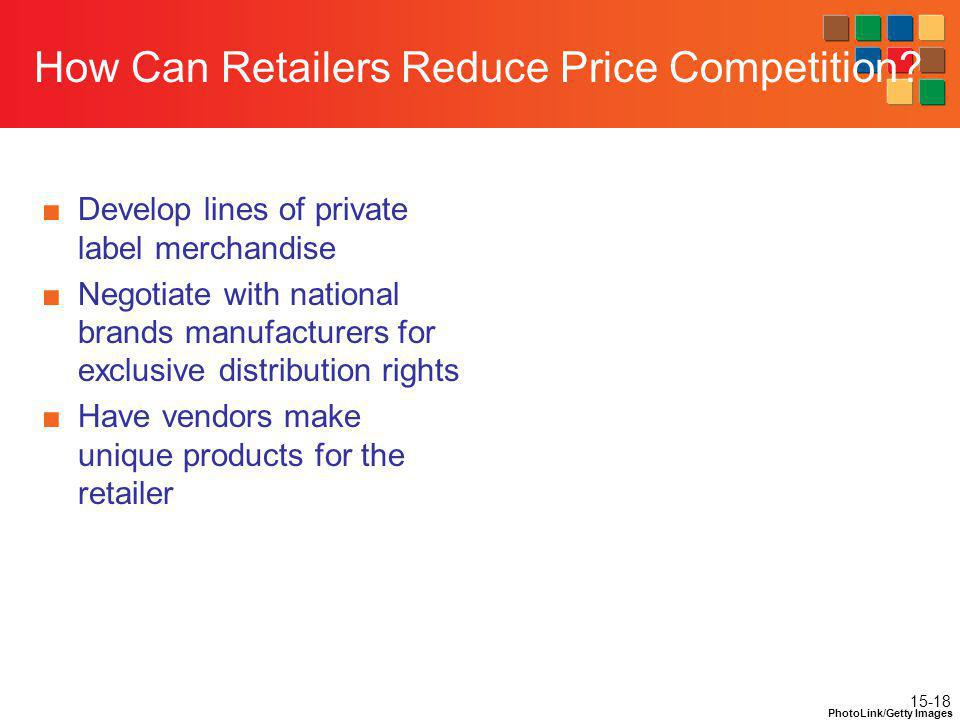 How Can Retailers Reduce Price Competition