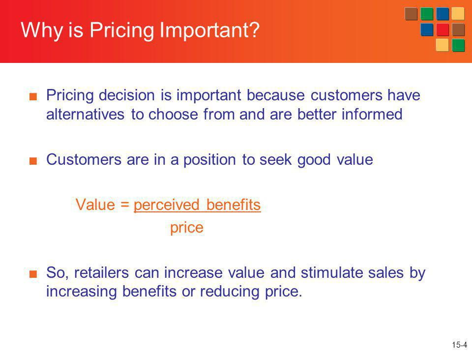 Why is Pricing Important